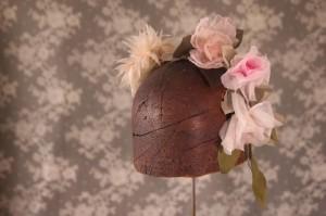 Hand made chiffon flowers